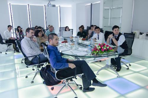 Đoàn công tác của Ngân hàng Thế giới to thăm BioSpring
