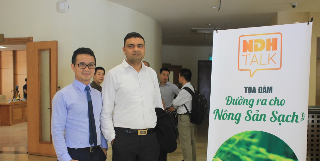 "Japfa & BioSpring participate in NDH Talk ""The way to market for Clean Agricultural Products"""
